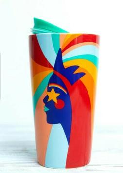 STARBUCKS - 2020 PRIDE CERAMIC 12oz  NEW - TRAVEL MUG With L