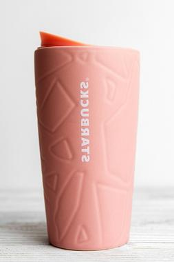 STARBUCKS - 2020 SPRING PINK CERAMIC 12oz  NEW - TRAVEL MUG