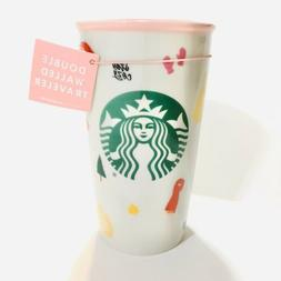 Starbucks Ban.Do Ceramic Mug SKU 2018 Double Walled Traveler