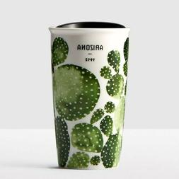 Starbucks Ceramic Tumbler 2017 Arizona Cactus  Coffee Mug /