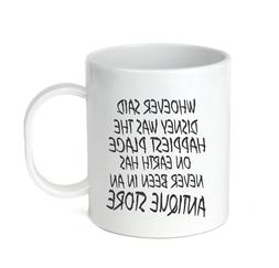 Coffee Cup Mug Travel 11 15 oz Whoever said happiest Place n