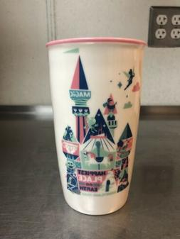 Disney Parks Starbucks Mickey Attractions Ceramic Tumbler Tr