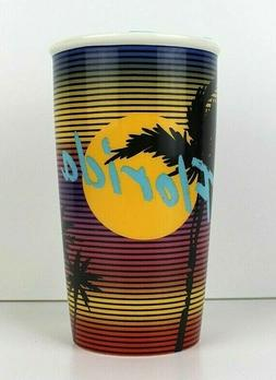 Starbucks Florida Miami Vice Double Wall Ceramic Travel Mug