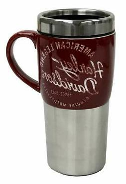 Harley-Davidson Heritage Ceramic Stainless Steel Travel Cup,