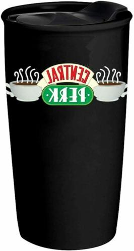 Friends Central Perk Logo Black 10oz Ceramic Doubled Walled