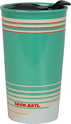 Star Naboo Travel Tumbler Mug - Fun Retro Design