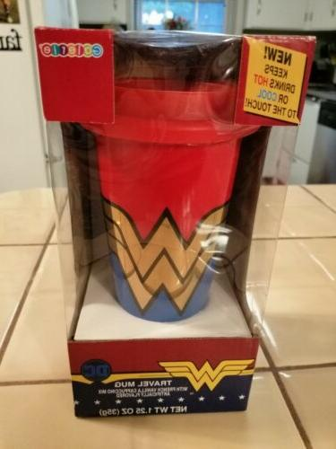 wonder woman travel mug by with french