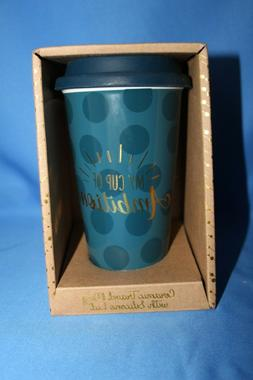 """TMD Holding Ceramic Travel Mug - """"My Cup of Ambition"""""""