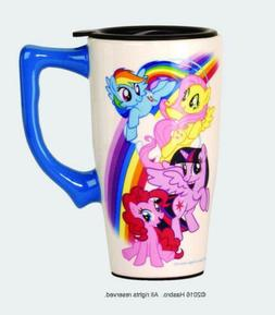 My Little Pony Character Images with Rainbow 14 oz Ceramic T