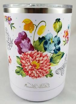 NEW PIONEER WOMAN DOUBLE-WALL CUPS~ BLOOMING BOUQUET