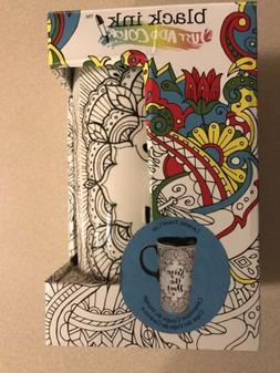 New Seize the Day Ceramic Travel Mug that You Color Great Gi