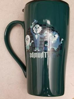 Disney Parks Haunted Mansion Attraction Ceramic Travel Mug N