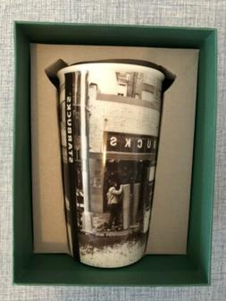 Seattle Pike Place Market Ceramic Travel Tumbler Cup Mug 201