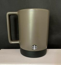 Starbucks  Gray Desk/mug Ceramic Traveler 14 Oz. 2017. NWT!