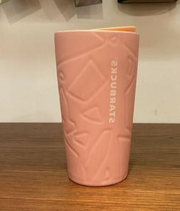 Starbucks Tumbler PINK Ceramic Travel Mug EASTER 2020 NEW!