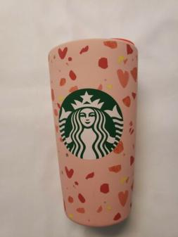 Starbucks Valentines 2020 Ceramic Travel Mug Tumbler Pink Re